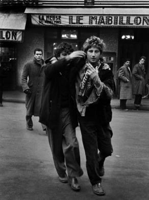 Auguste Hommel et Jean Michel Mension, Paris, 1952-1954.