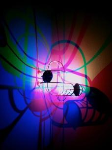 CMYK Corner Light Design by Dennis Parren