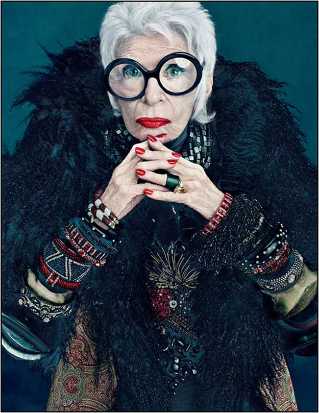 Iris Apfel 91 year old