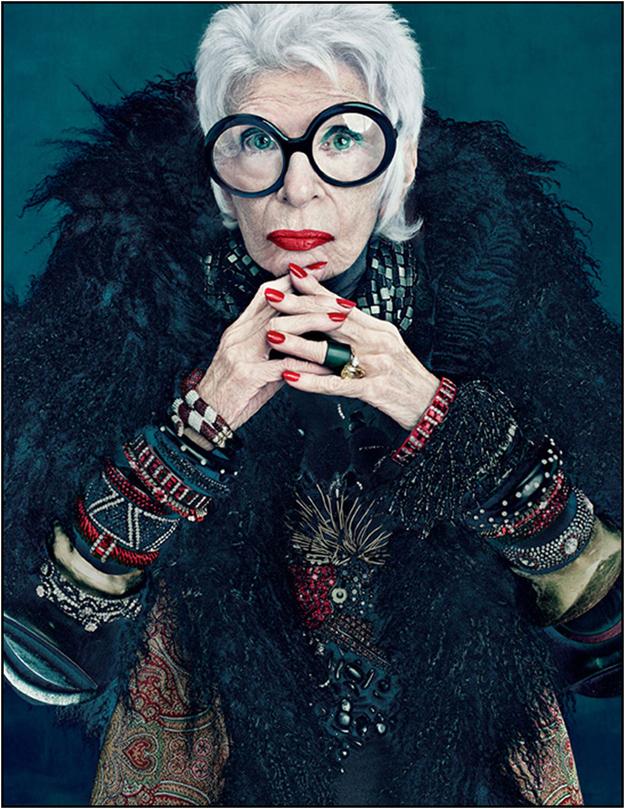 Iris Apfel 91 year old