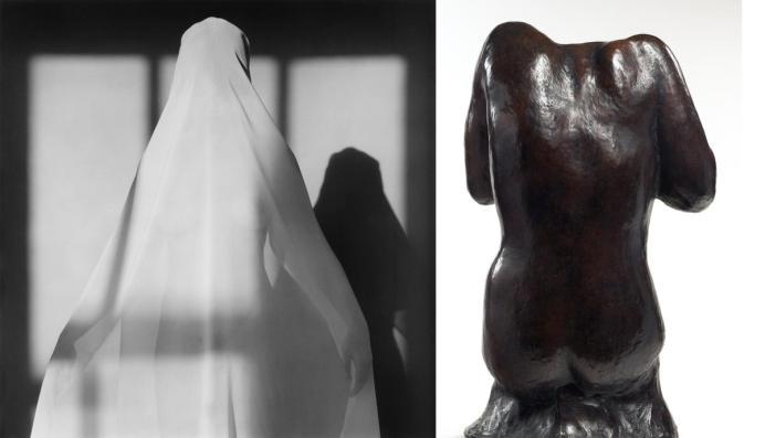 A. Rodin, torse féminin assis sans tête dit du Victoria and Albert Museum, bronze, vers 1910-1914, S 605, Musée Rodin. Photo/Christian Baraja.
