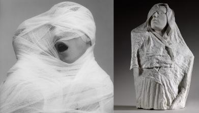 A. Rodin, Age d'airain drapé, plâtre entre 1895 et 1896, S 3179, Musée Rodin. Photo/Christian Baraja.