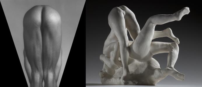 A. Rodin, Femmes damnées, plâtre, S 41, Musée Rodin. Photo/Christian Baraja.