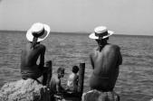 """""""Deux canotiers"""", Italie, Marc Held, 1960"""