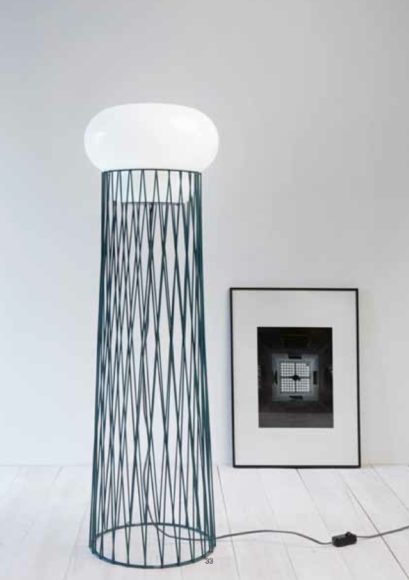 Lampadaire Blow de Normal Studio pour Forestier