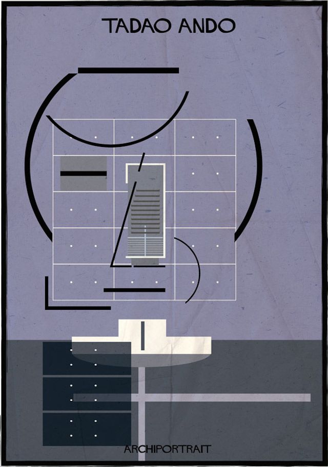 Archiportrait Tadao Ando de Federico Babina