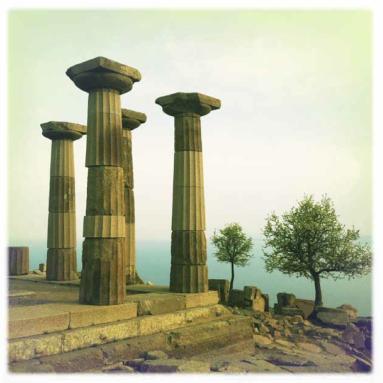 (Troy)- Behramkale Turkey, March 2012:Stefano De Luigi:VII