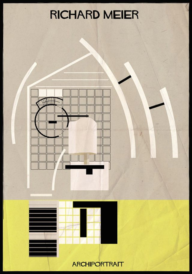 Archiportrait Richard Meier par Federico Babina