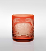 Crab Double Old Fashioned in Burnt Orange
