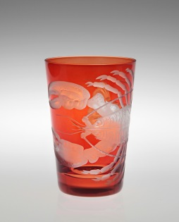 Lobster Tumbler in Burnt Orange