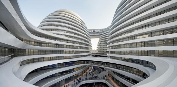 les tours Sho à Pékin