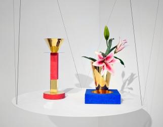 Milano Design Week 2016. Galleria Clio Calvi Rudy Volpi. Andrea Branzi. ORO, GESSI E PESCI