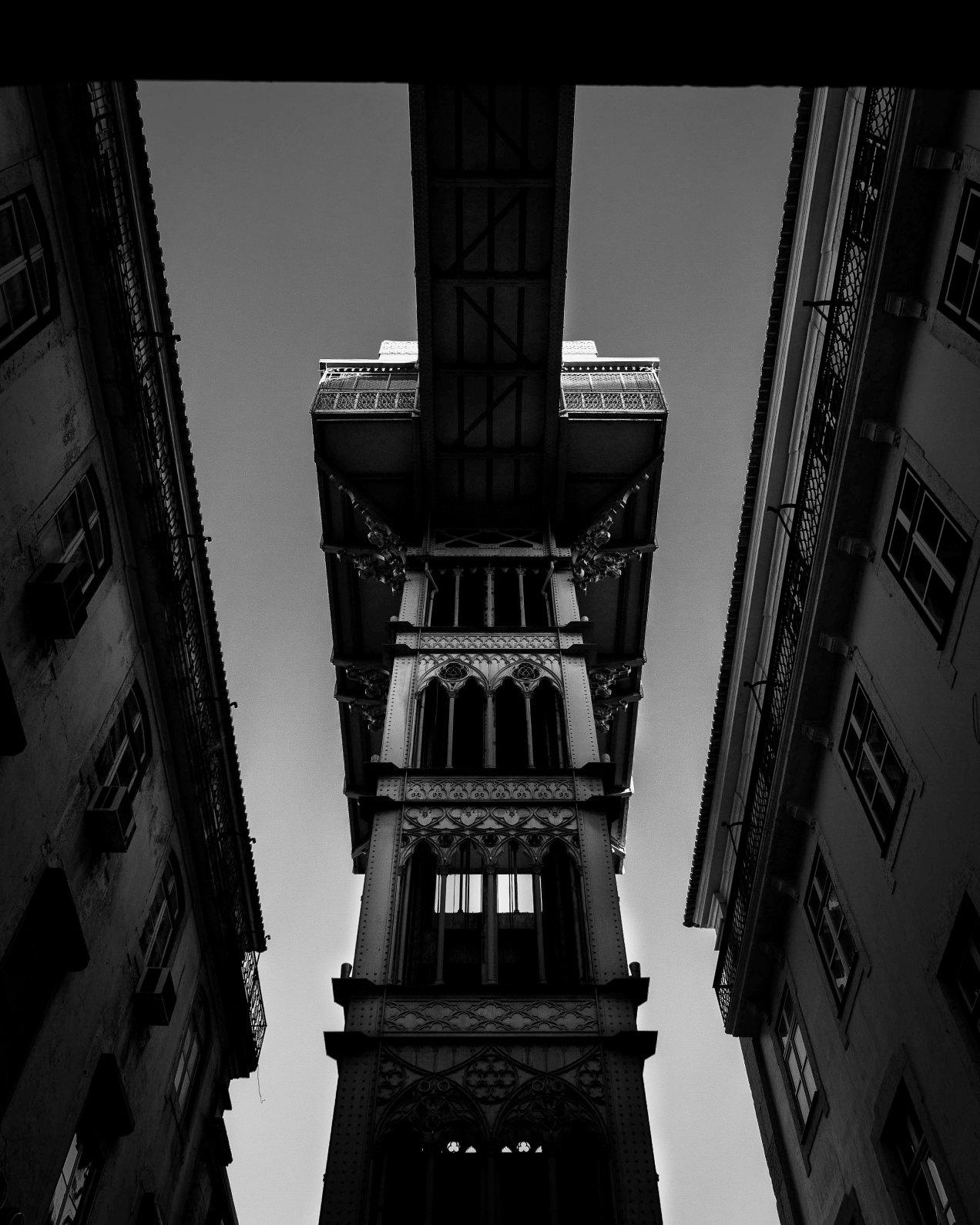 Ascenseur de Santa Justa, Lisbonne, gildalliere, 2007