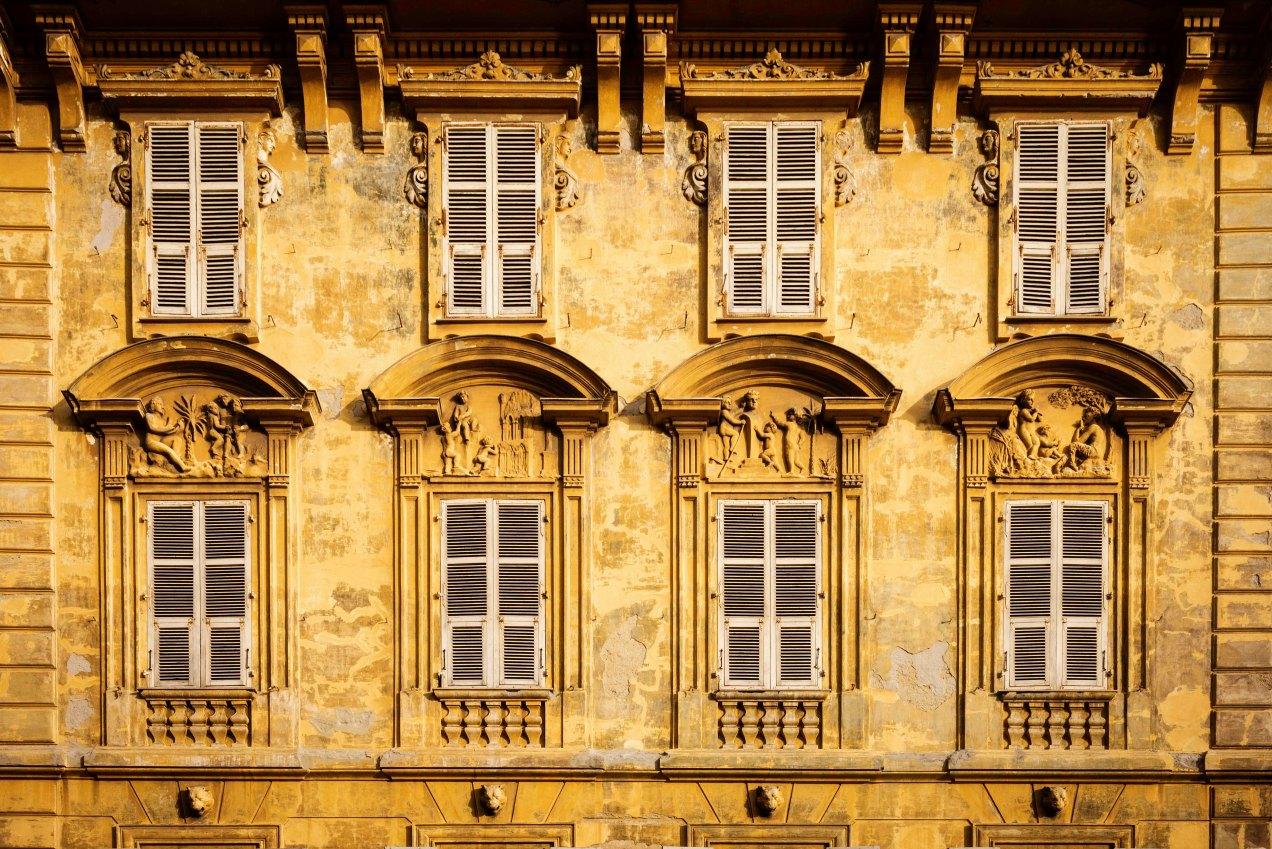 Le palais Caïs de Pierlas, Nice, gildalliere, 2017