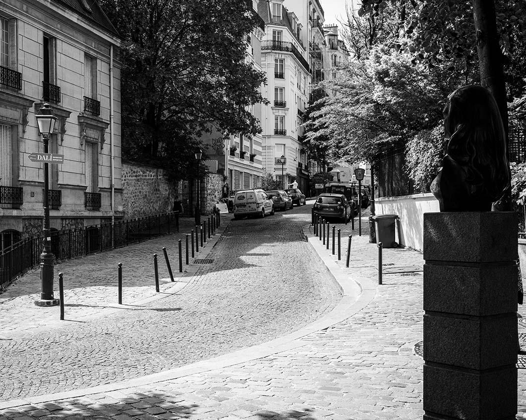 Place Dalida, Paris, gildalliere, 2018