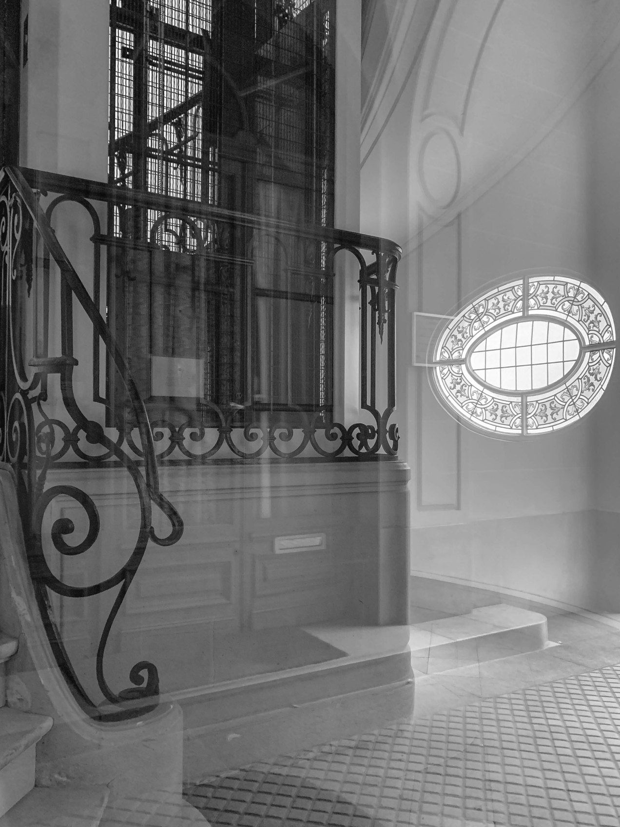Porche d'entrée., rue Vaugirard, Paris, gildalliere, 2018