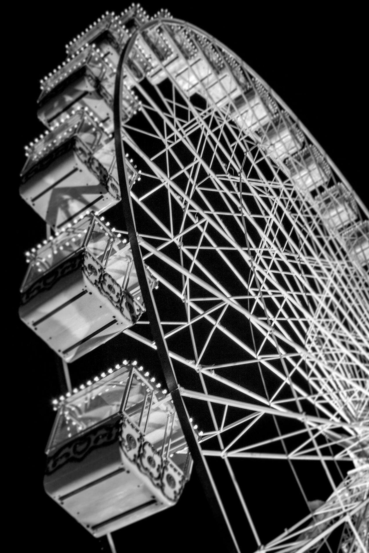 Grand roue, Nice, gildalliere, 2018