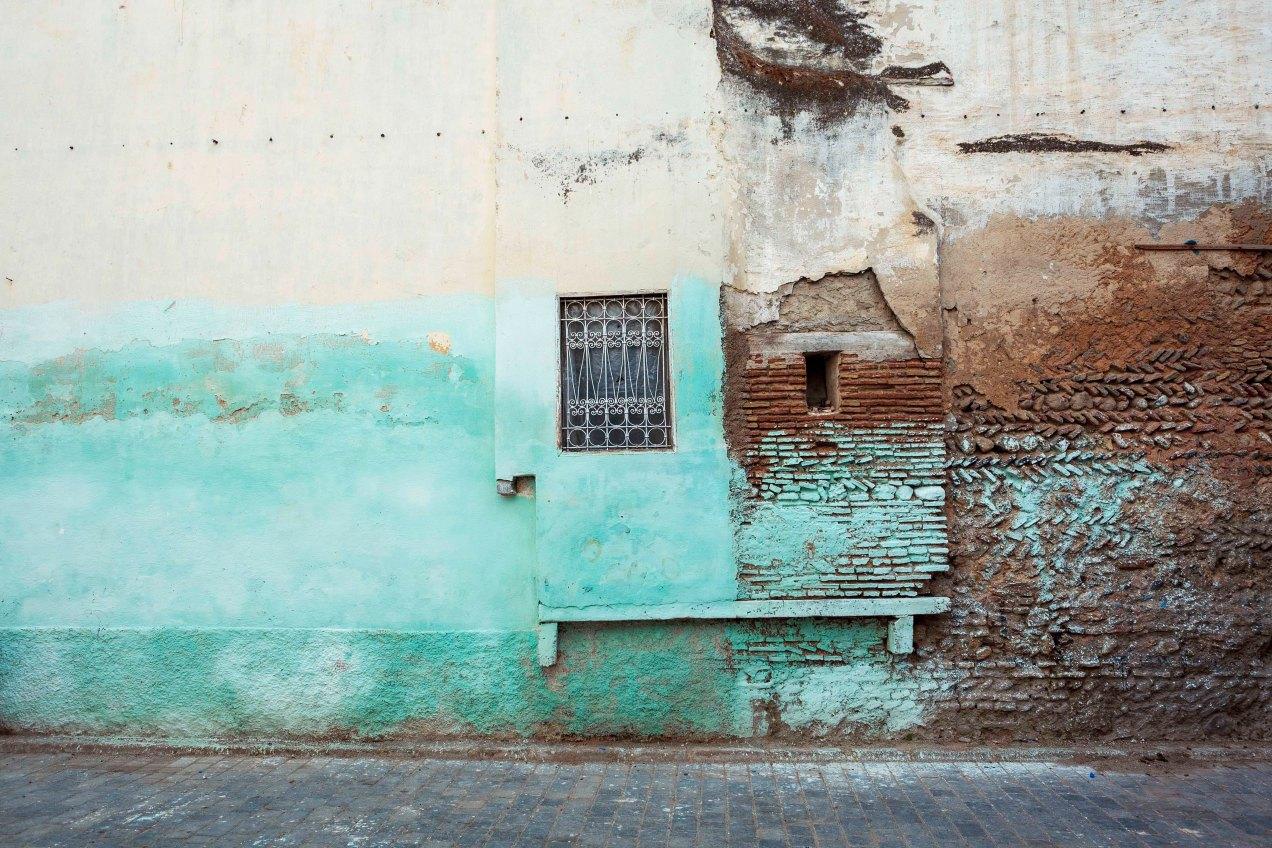Mur, Fès, gildalliere, 2014