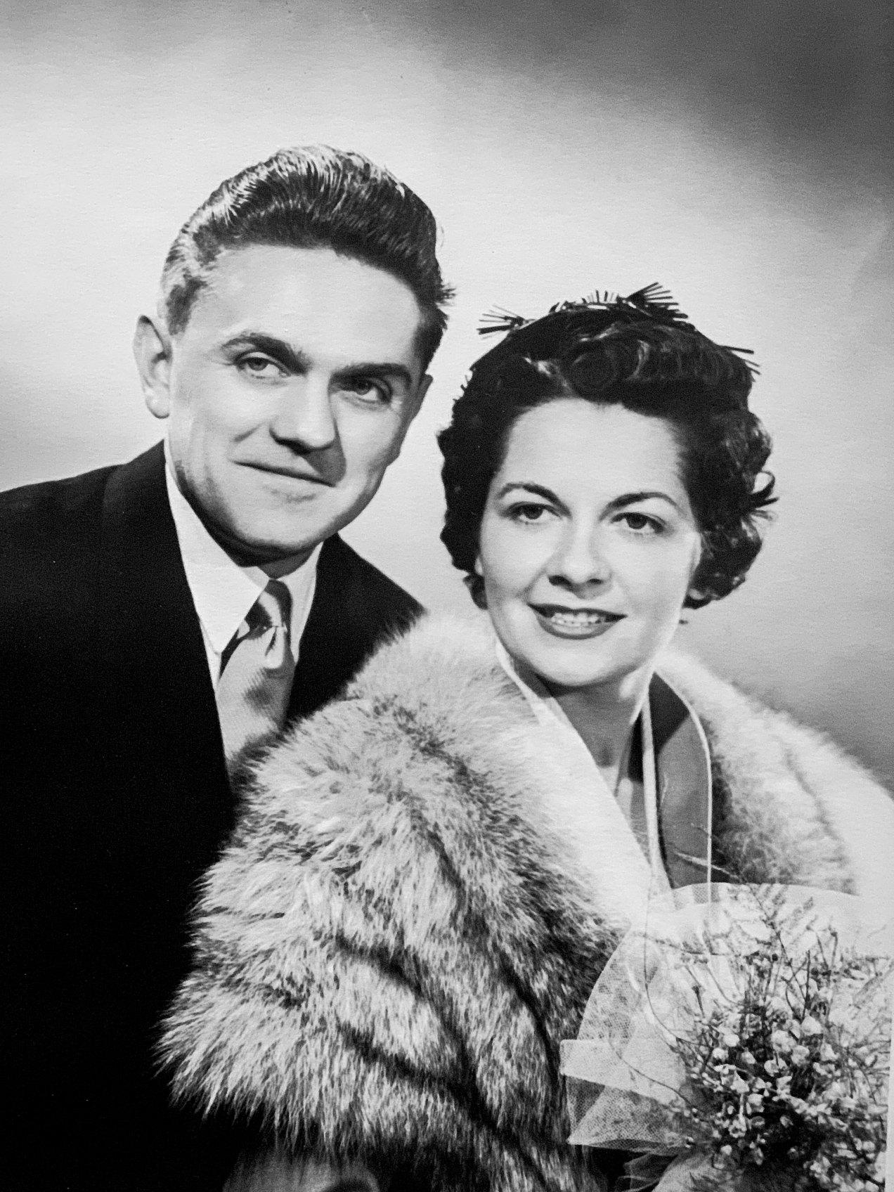 Mariage Maman et Papa, Bordeaux, 1954