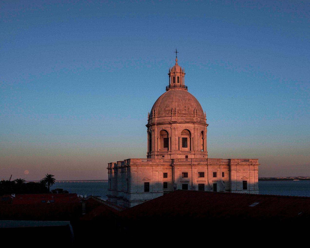 Le Panthéon, Lisbonne, gildalliere, 2007