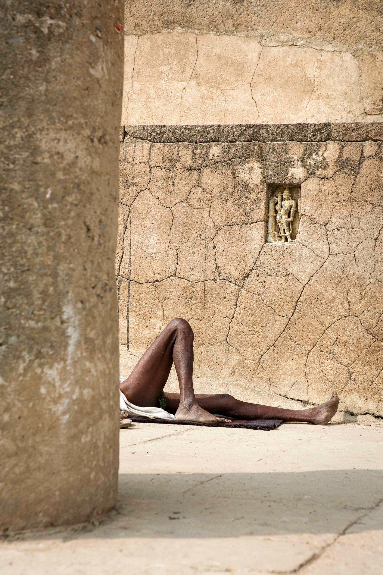 Street photography, Bénares, Inde, 2008