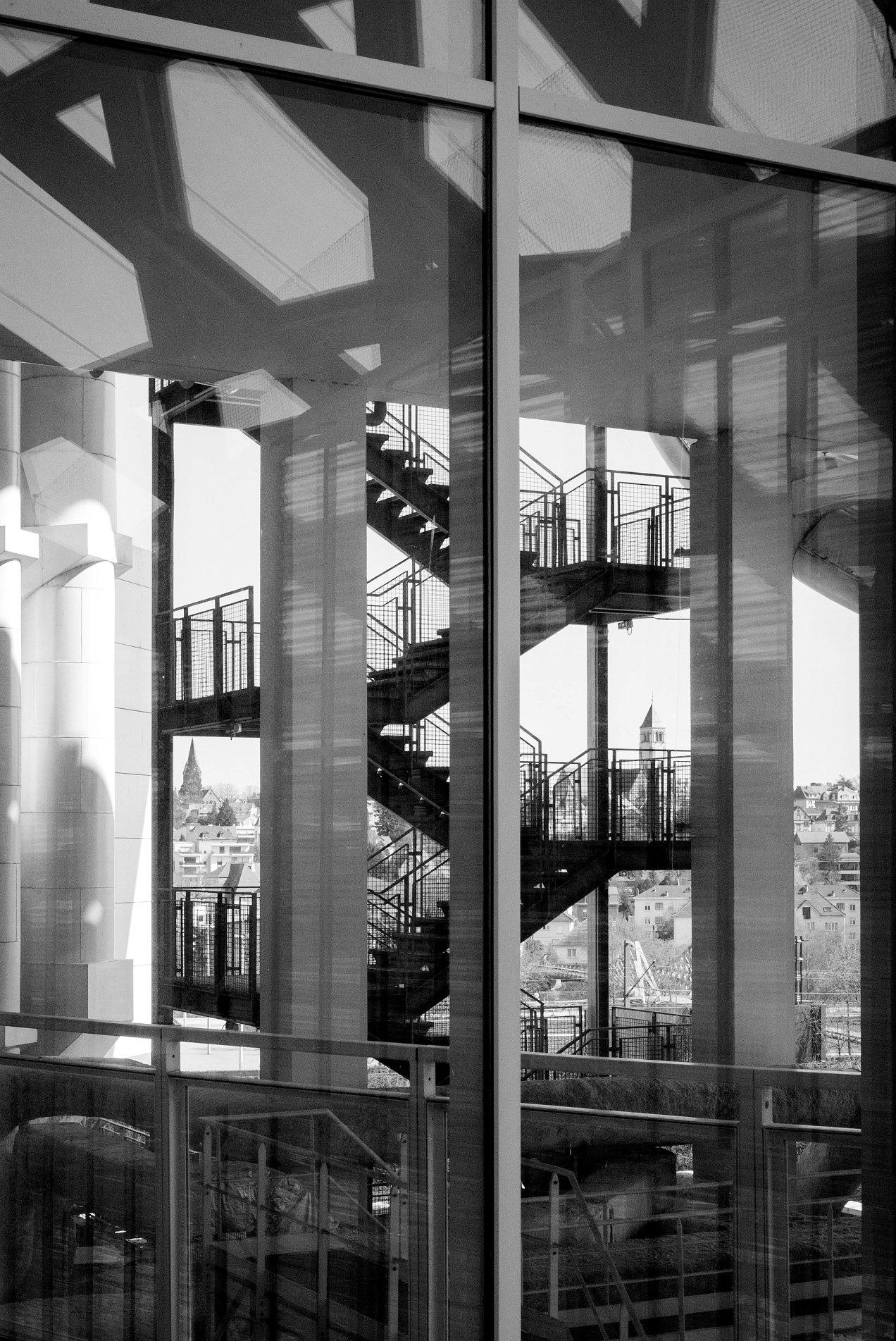 Centre Pompidou Metz, escaliers de secours, gildalliere, 2019