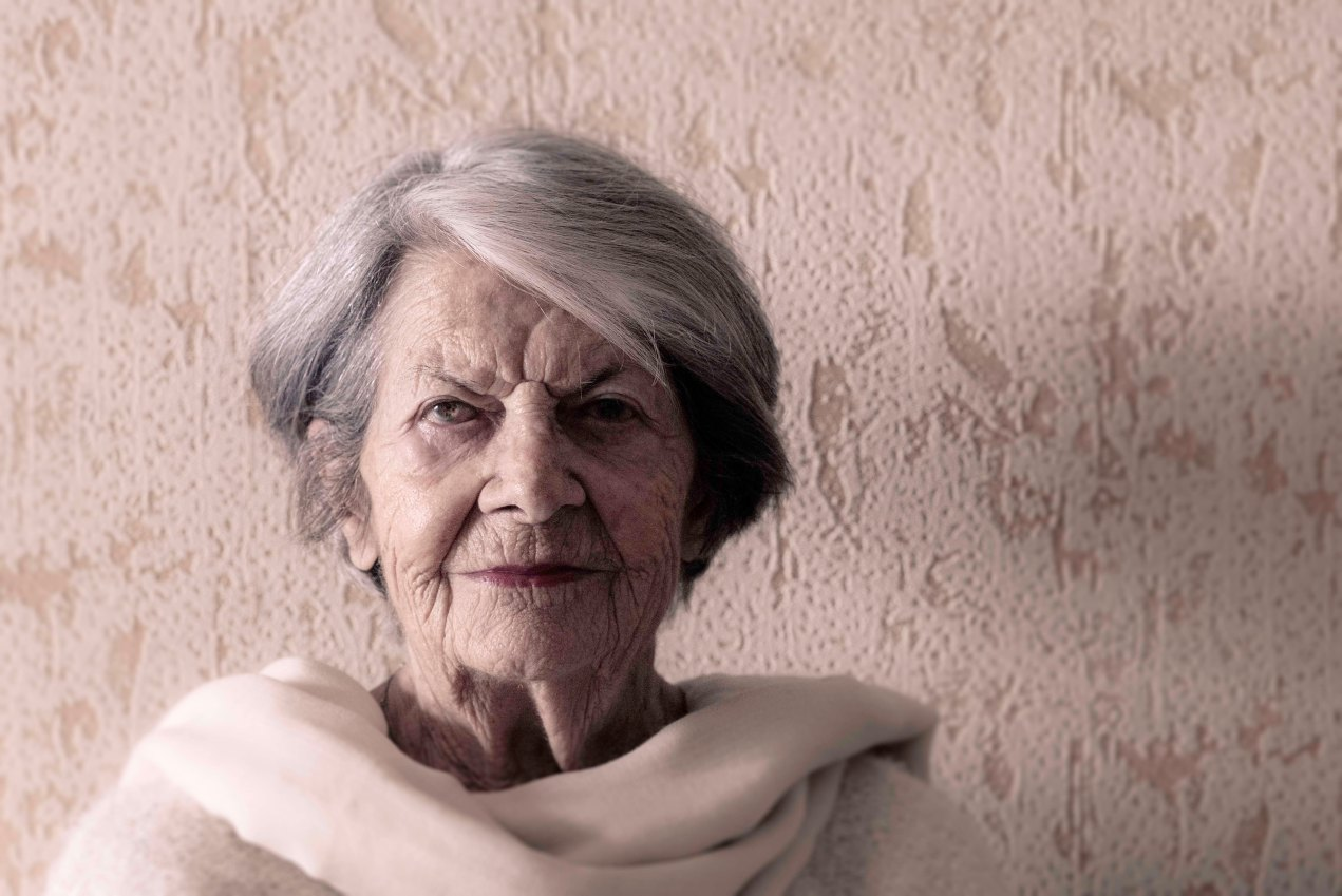 Maman, portrait, gildalliere, 2019