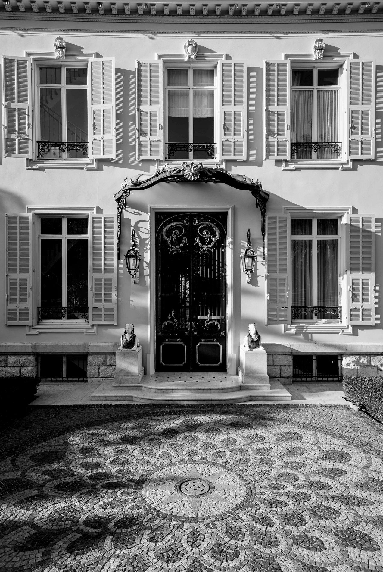 Villa Nellcote, Saint-Jean-cap-Ferrat, gildalliere, 2013