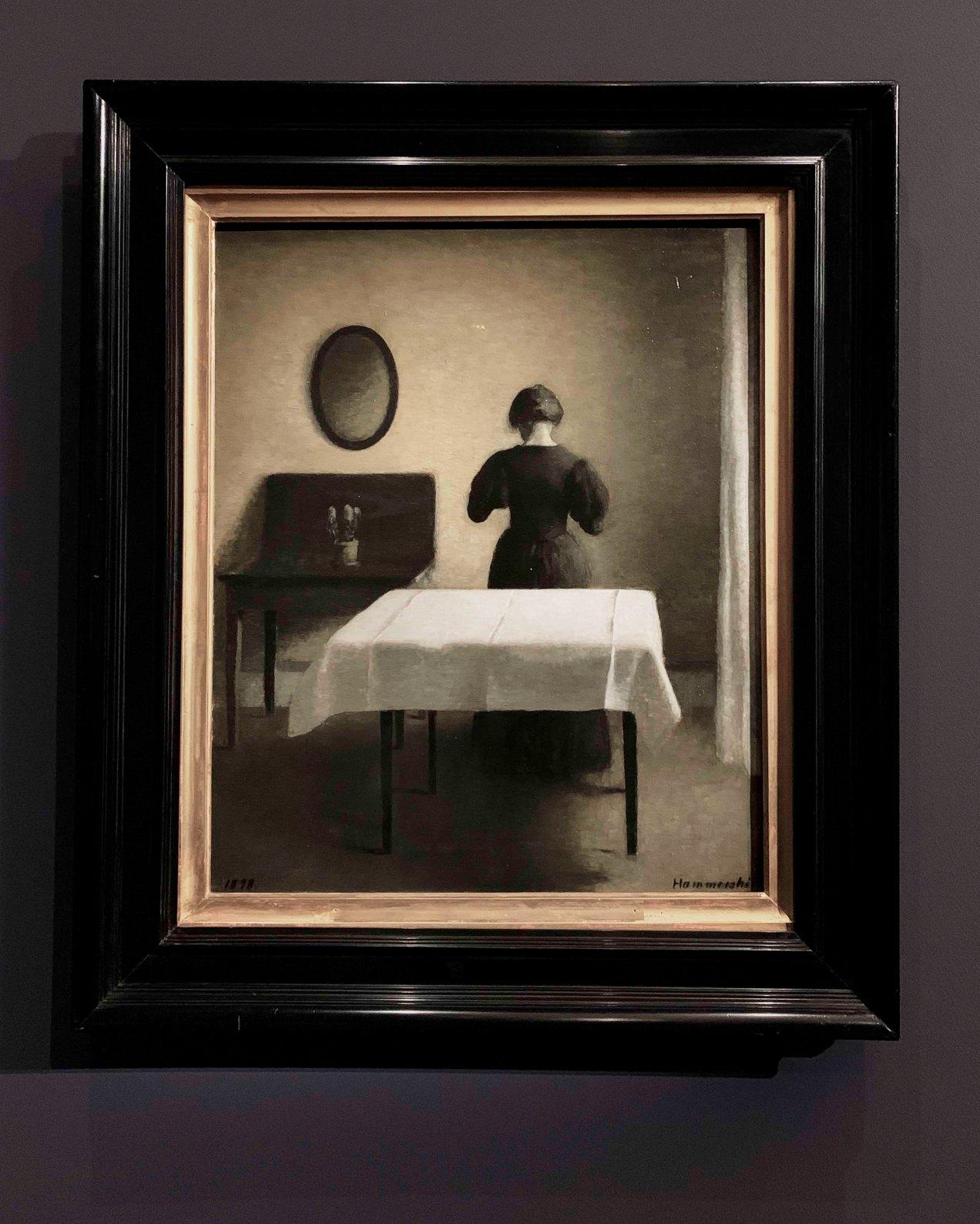 Hammershoi, le maître de la peinture danoise, gildalliere, 2019