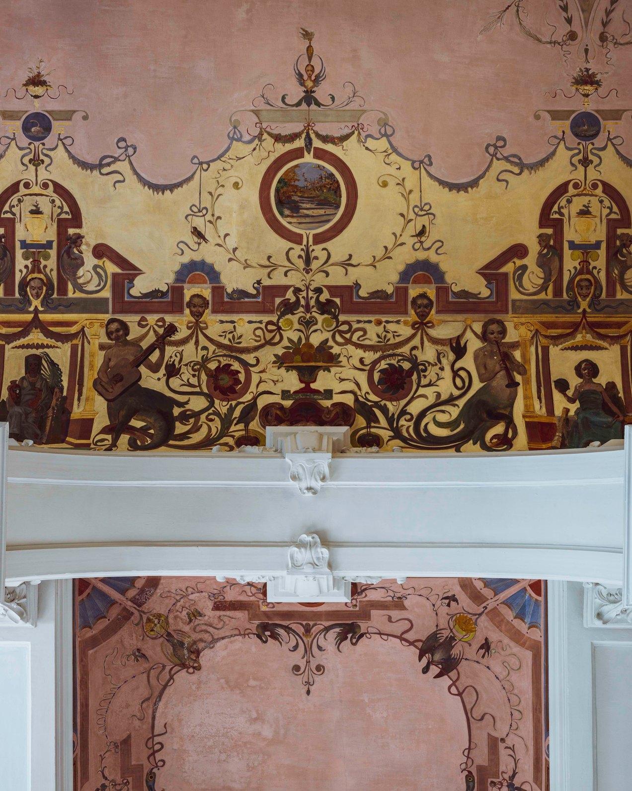 Les plafonds du Westminster, Nice, gildalliere, 2019