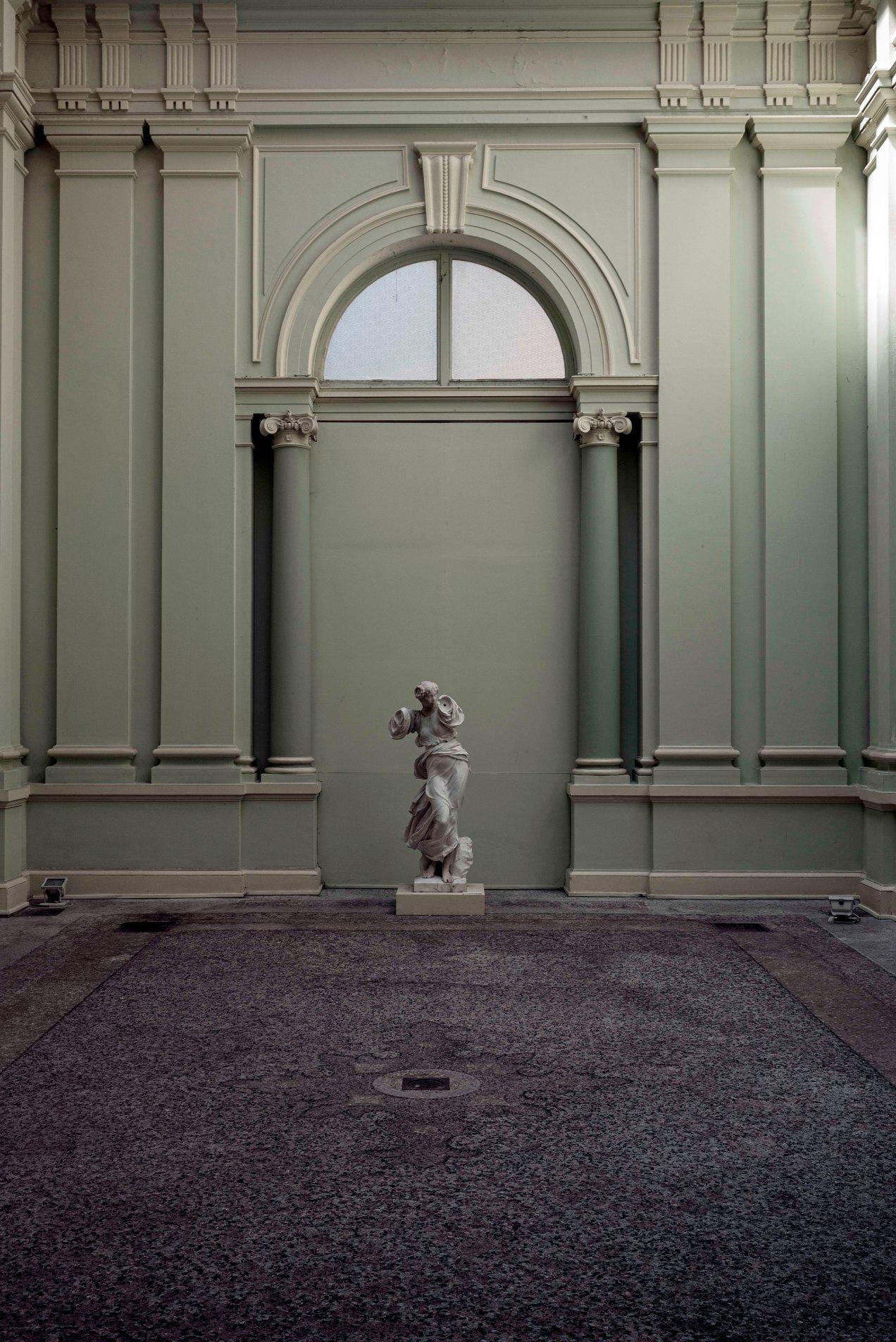 Nymphe 1910, Marbre polychrome Henri-Louis Cordier, Musée Chéret, Nice, gildalliere, 2019