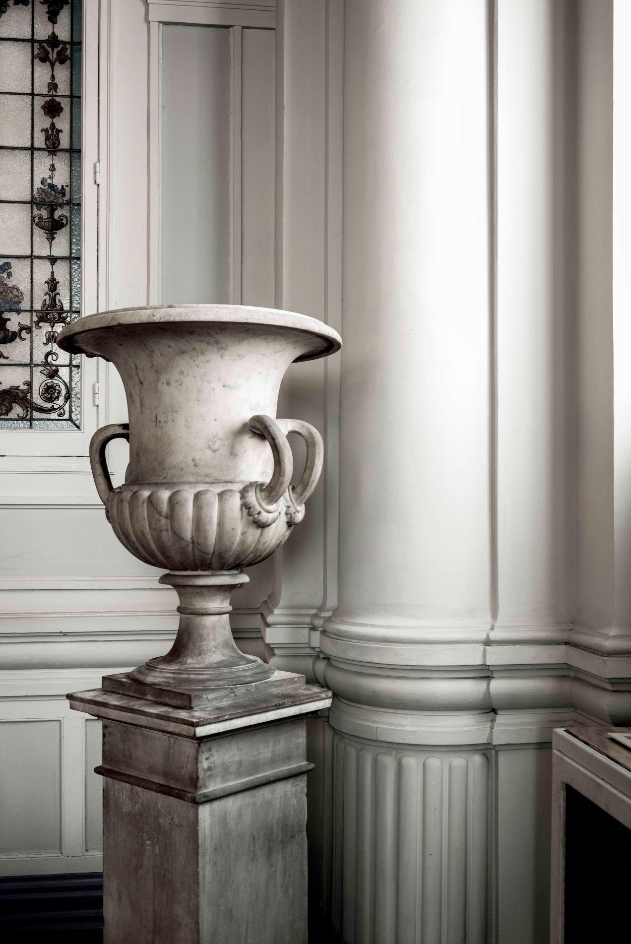 Vase Médicis, Hôtel Westminster, Nice, gildalliere, 2019