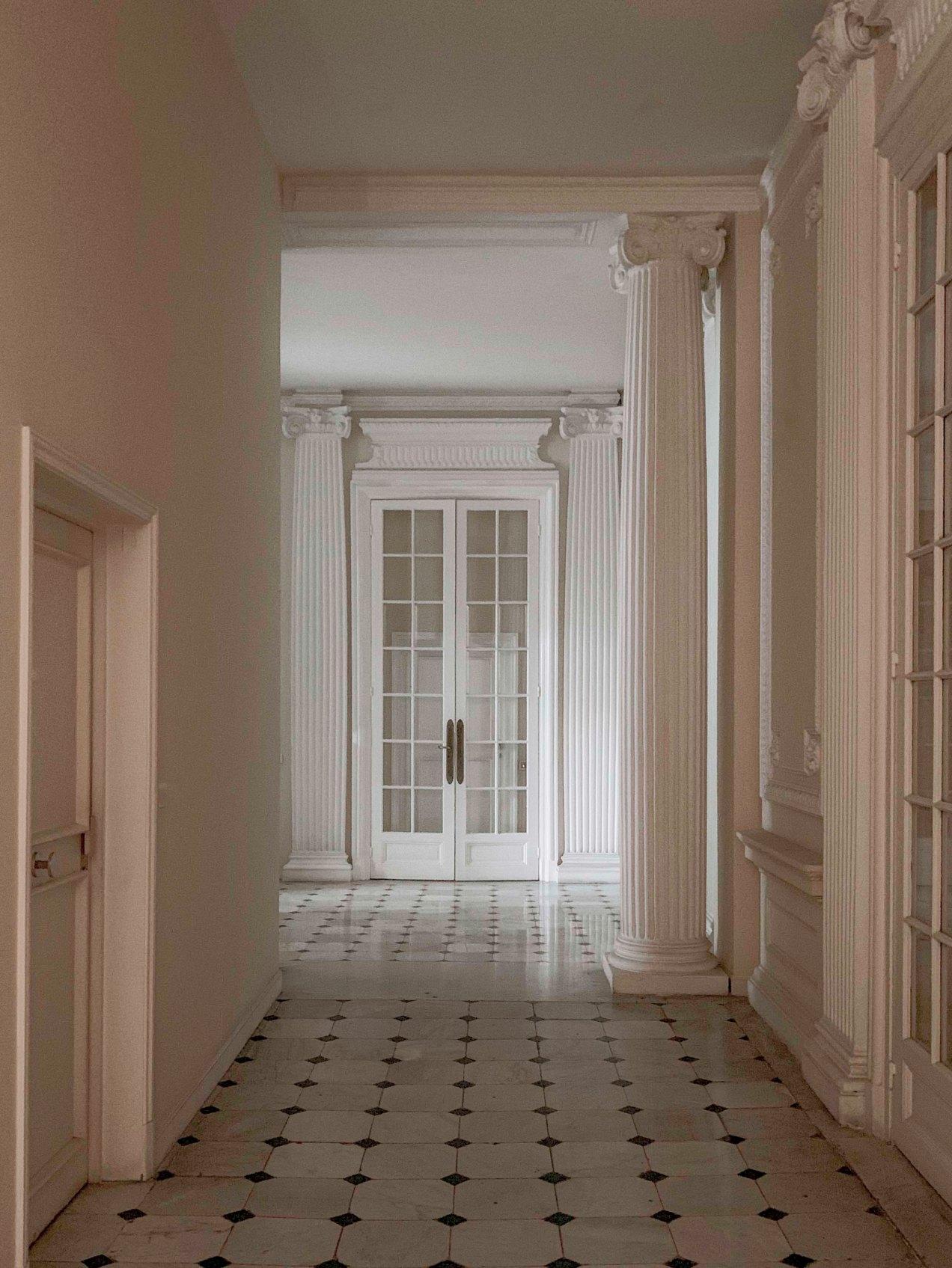 Villa  Starzynski, Entrée, Nice, promenade des Anglais, gildalliere, 2019