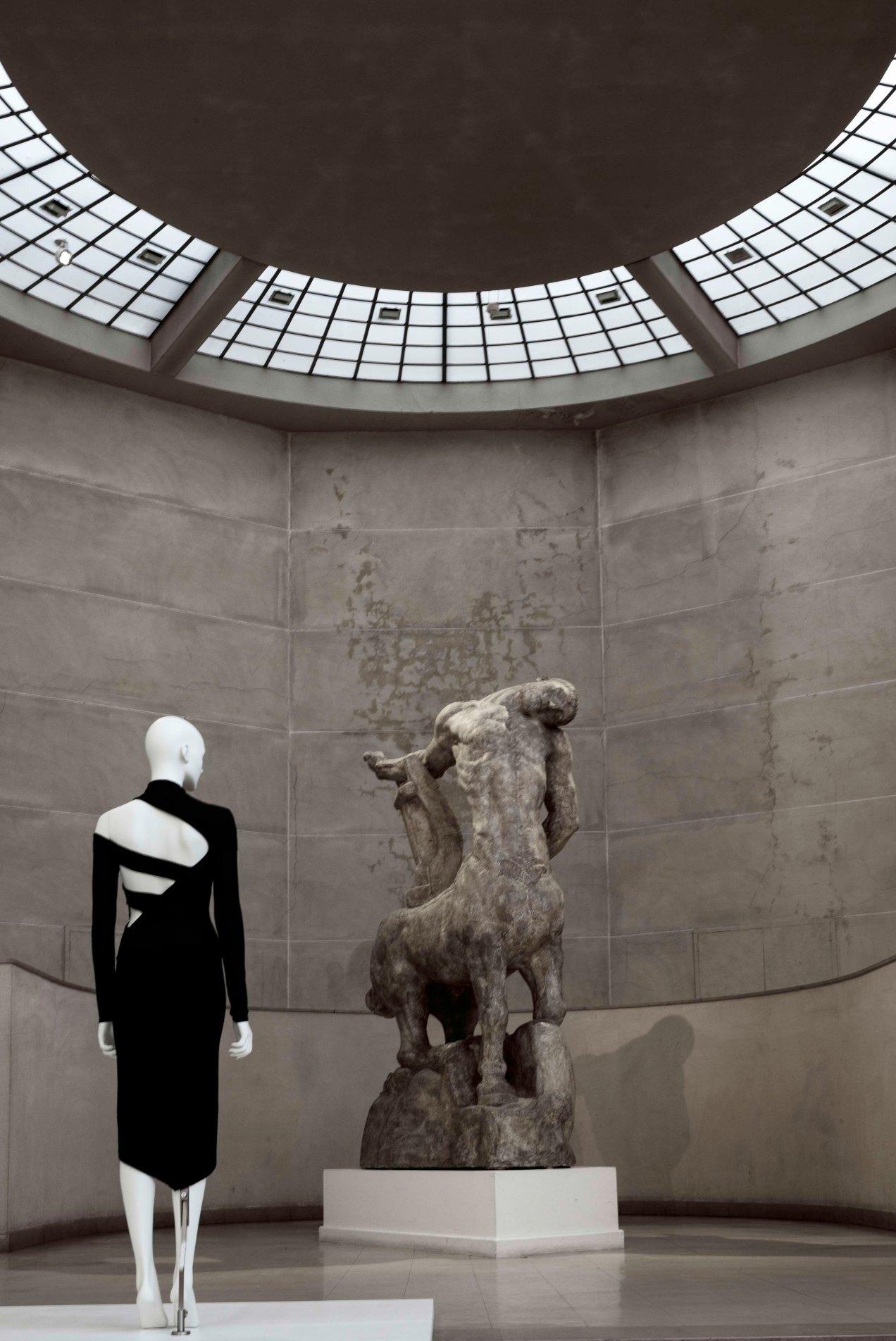 Back side, musée Bourdelle, Paris, Martine Sitbon, Prêt-à-porter, automne-hiver 1997-1998, gildalliere, 2019