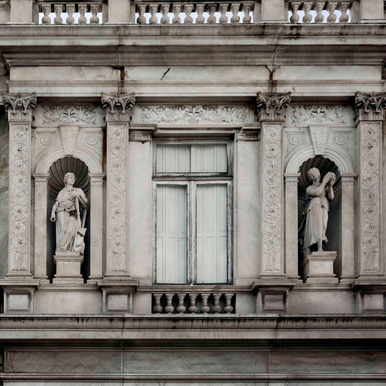Détail façade, Villa des Palmiers, Nice, gildalliere, 2019