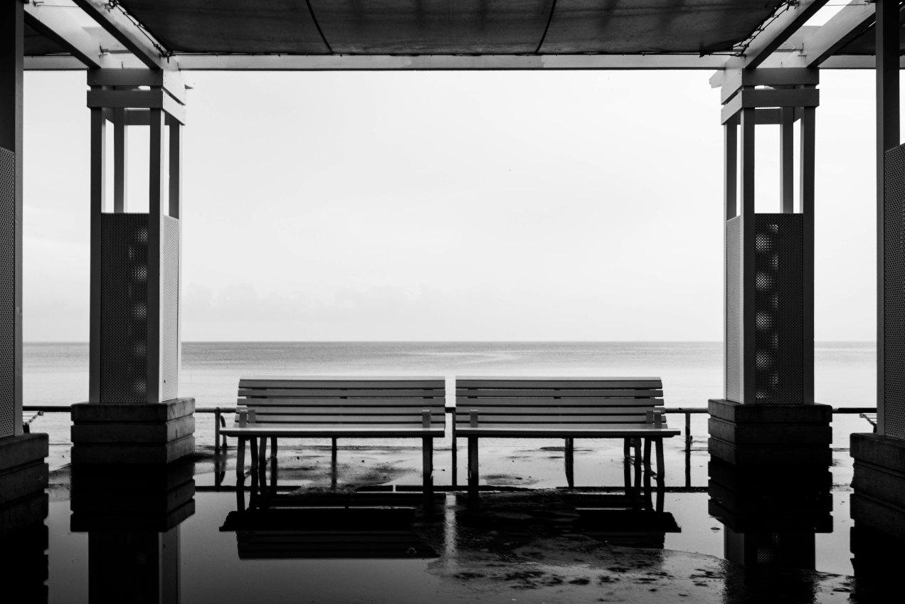 La pluie, promenade des anglais, Nice, gildalliere, 2019