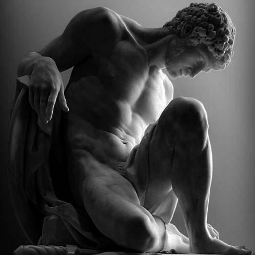 sculpture grecque, gildalliere, 2019