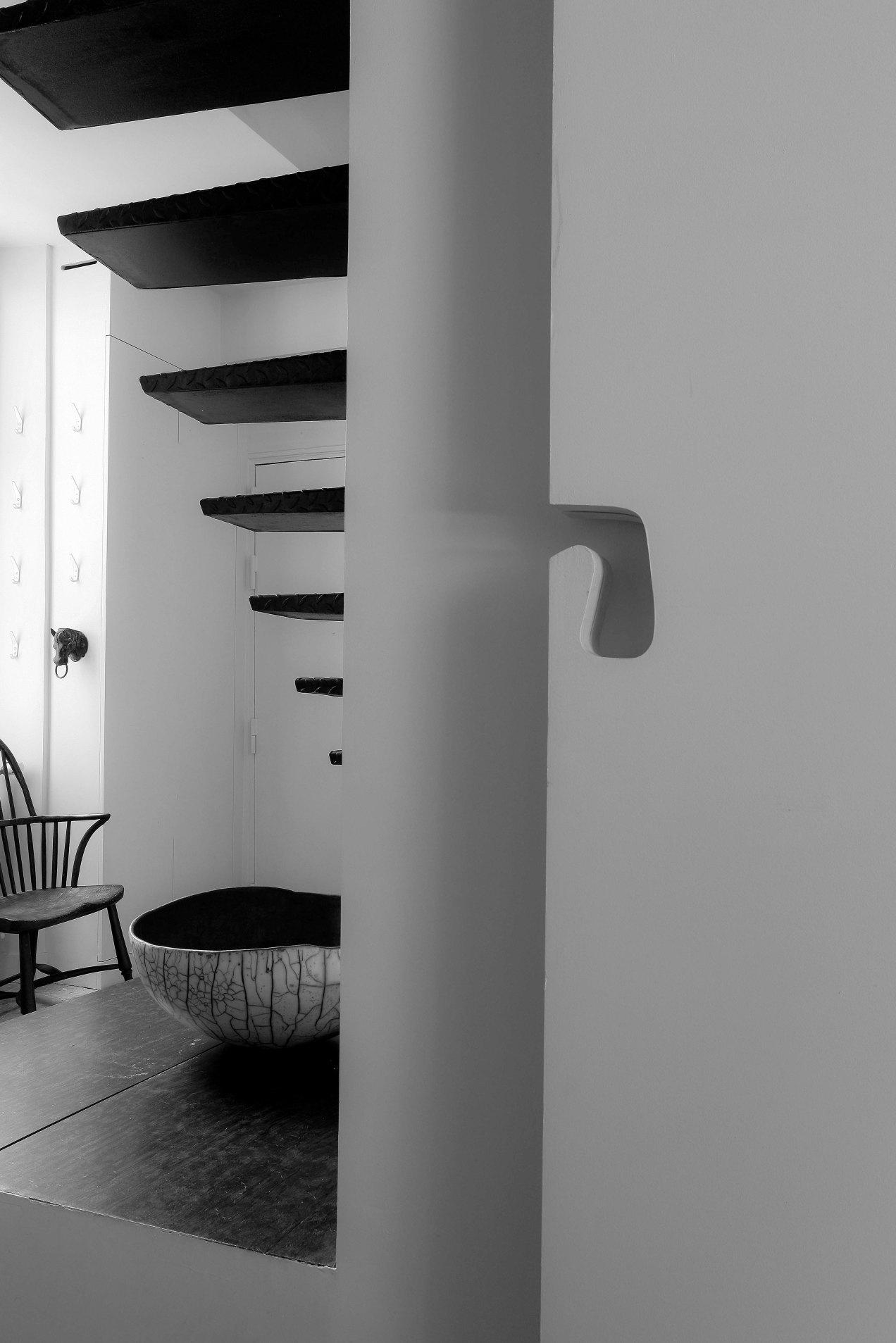 Escalier, Frédéric Lebard, Paris, rue Visconti, gildalliere, 2006