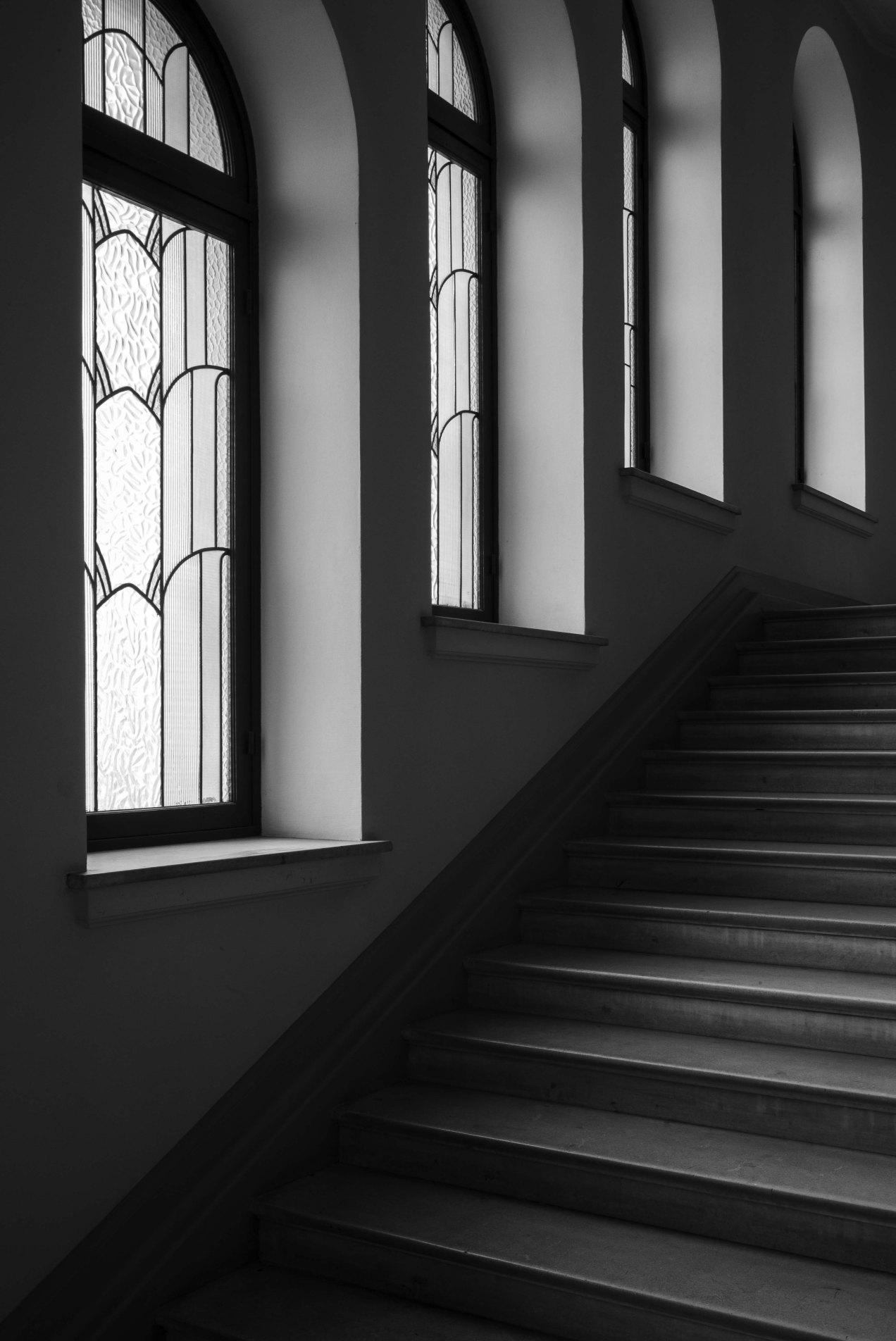 Le Majestic, escalier, Nice, gildalliere, 2019