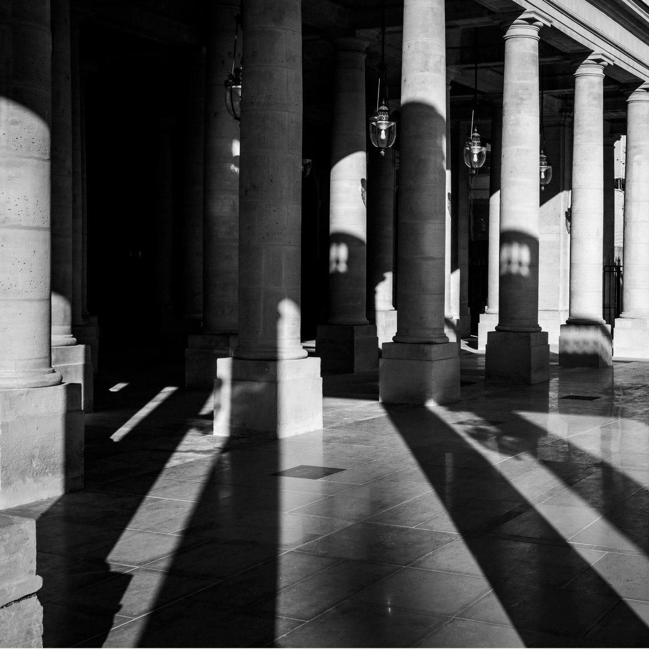 Palais Royale, Paris, gildalliere, 2018