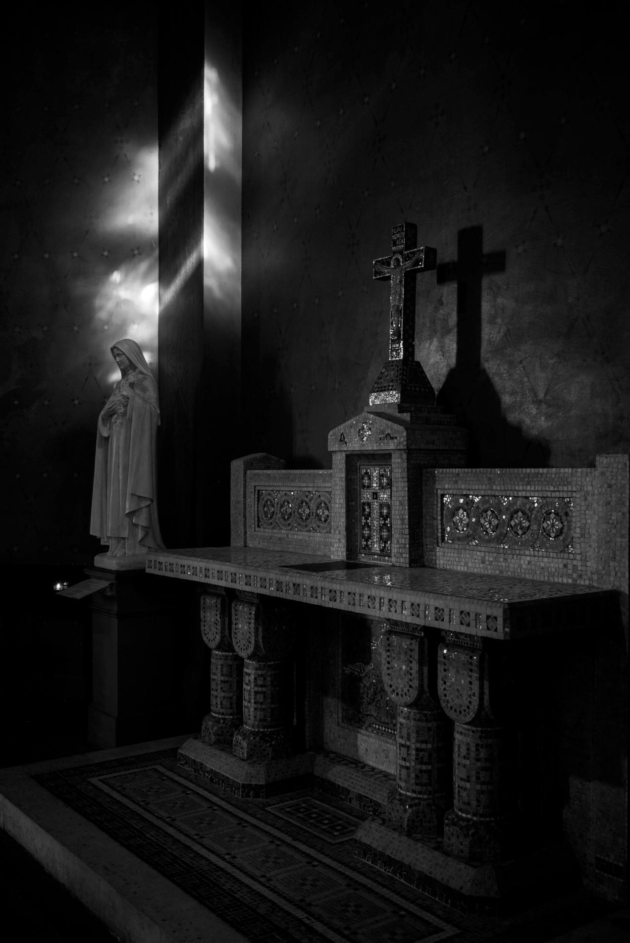 L'autel de la vierge Marie, Saint-Jean de Montmartre, Paris, gildalliere, 2019