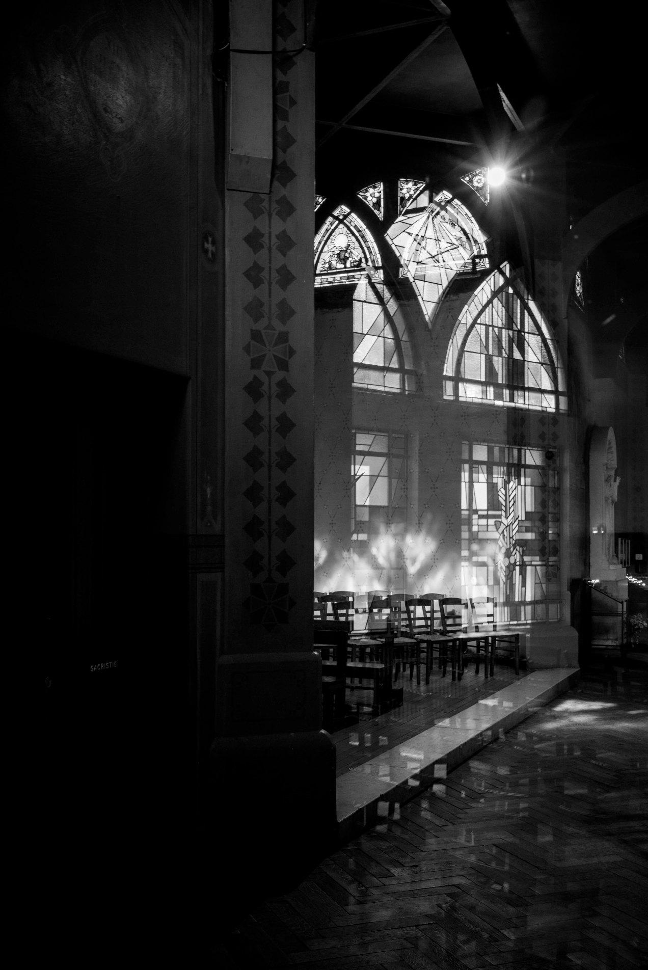 Réflexion, Saint Jean de Montmatre, Paris, gildalliere, 2019