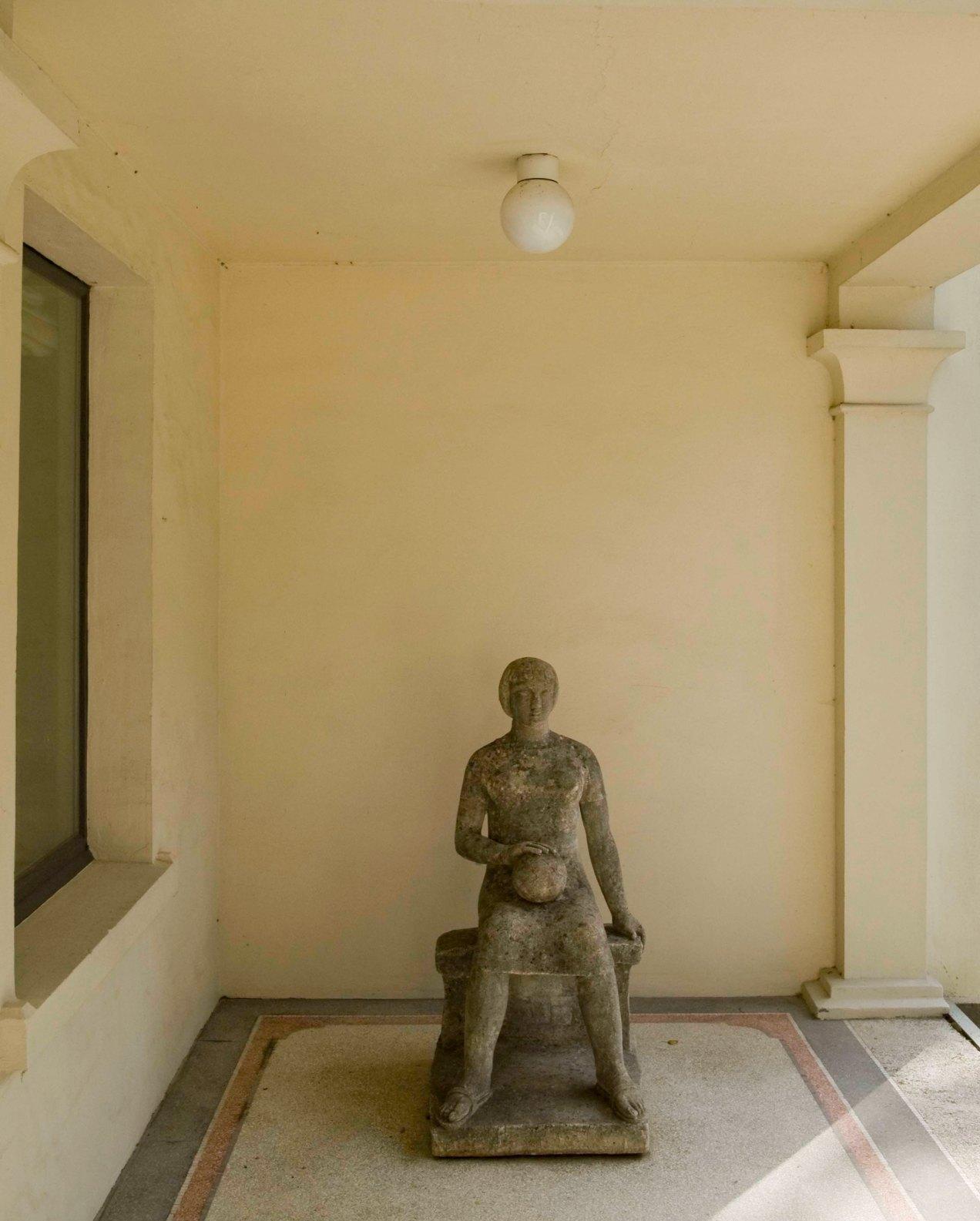 Sculpture, Karel Aubroeck, Vil, Belgique, gildalliere, 2011