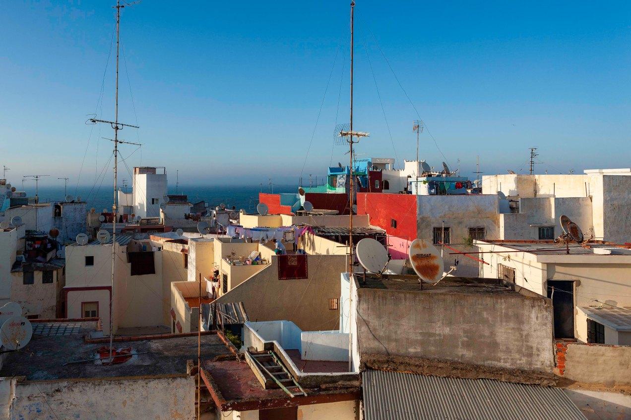 Tanger, le détroit de Gibraltar, gildalliere, 2012, Maroc