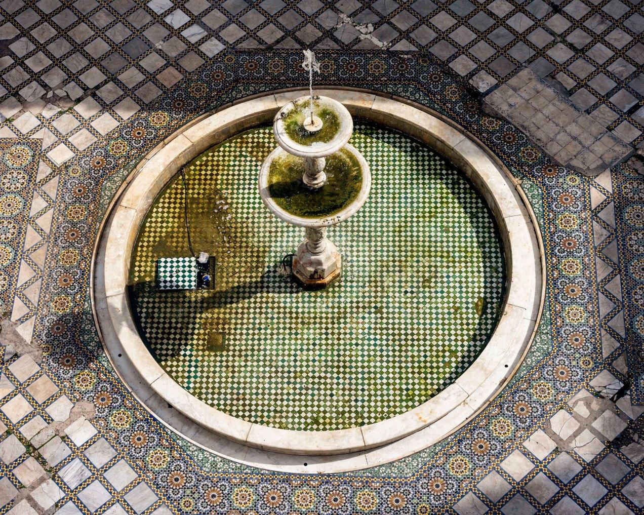 Fontaine du Palais Moulay Idriss, Fès, gildalliere, 2020 Maroc