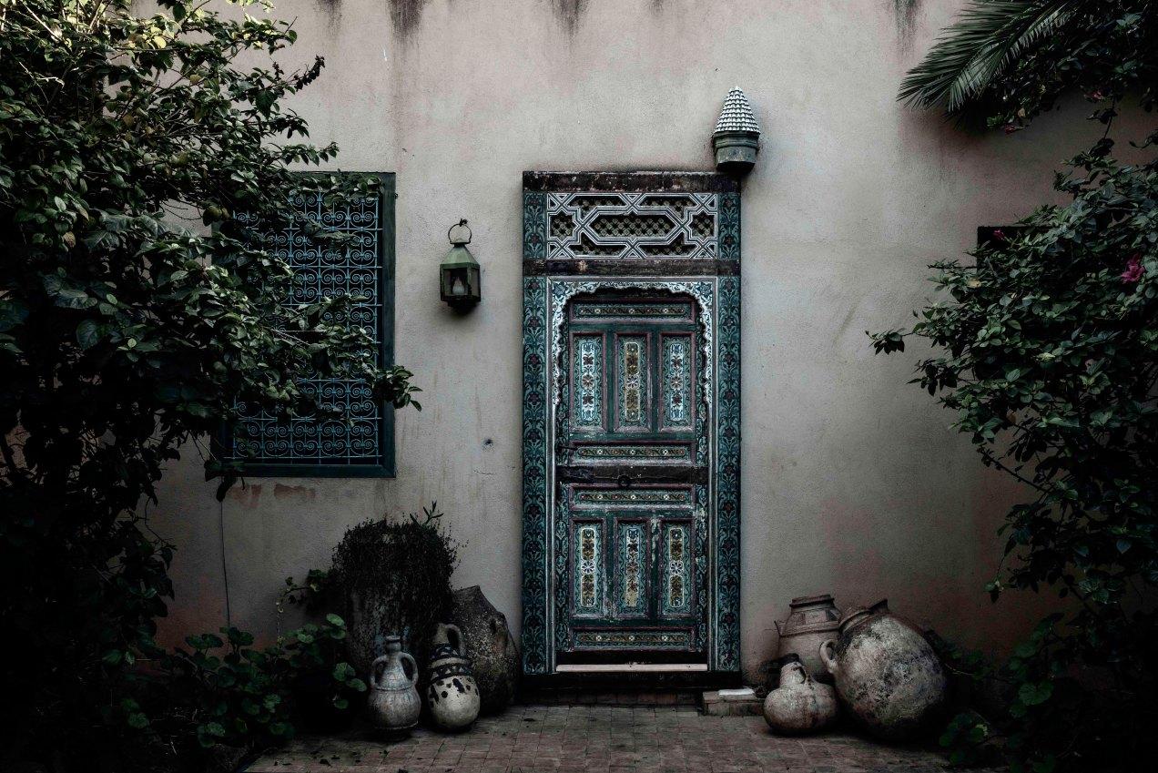 Le jardin privé des Biehn, gildalliere, Fès, Maroc, 2020