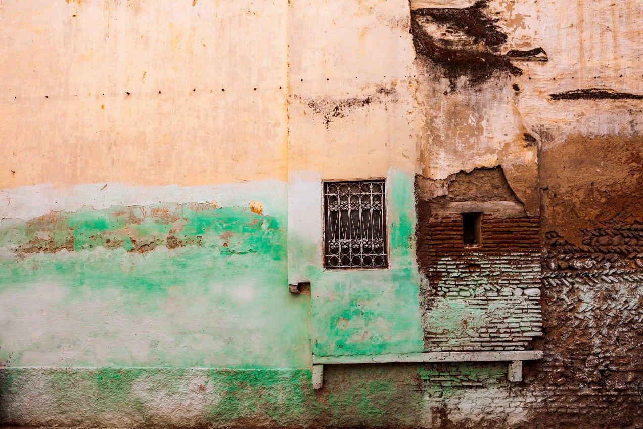 Mur, Fès, médina, Maroc, gildalliere, 2014.
