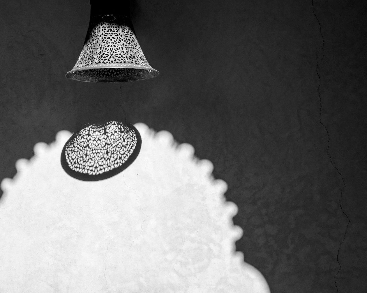 Ombre portée, Riad Fès, Fès, Médina, Maroc, gildalliere, 2020