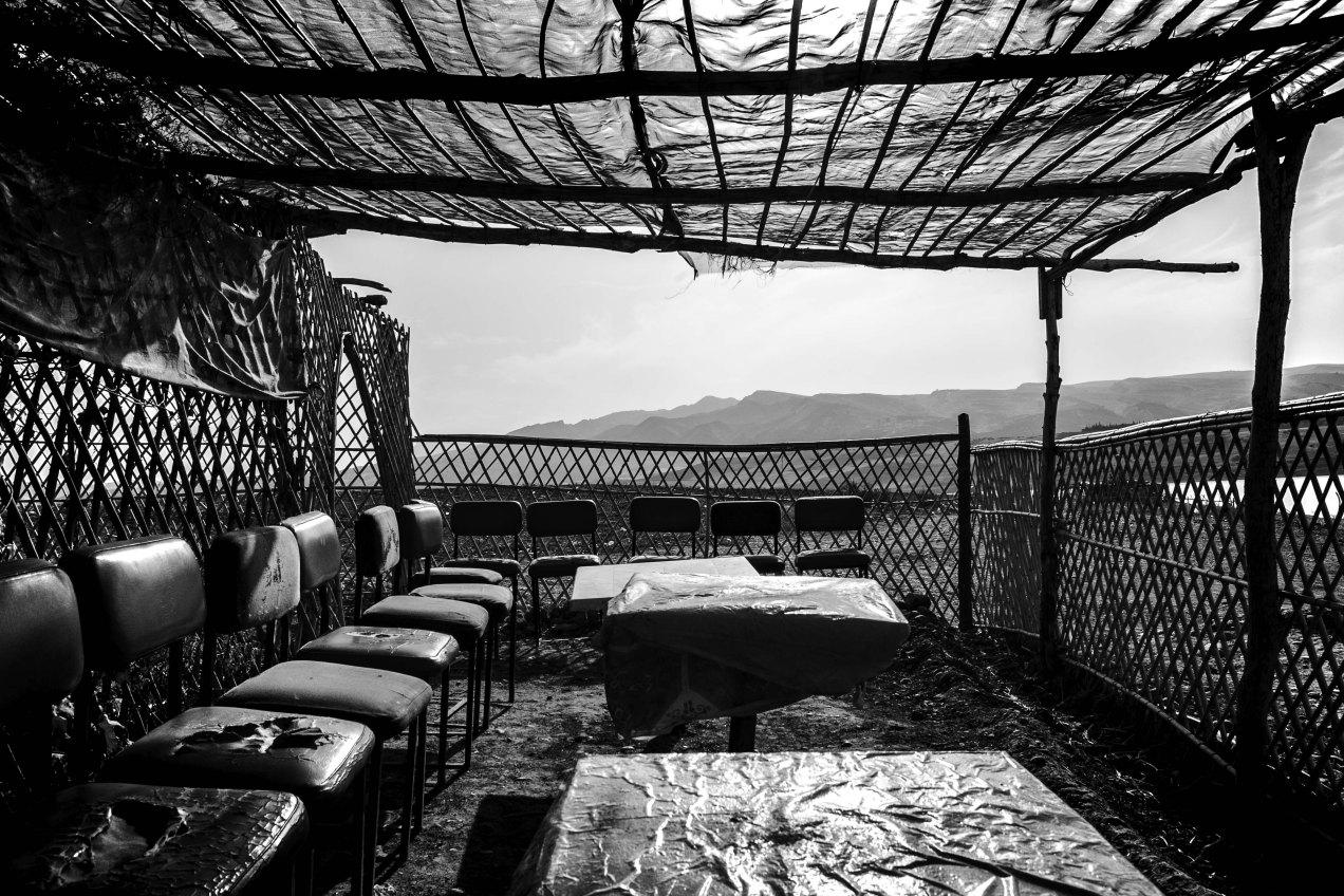 Taverne, Sidi Chahed, Fès, Maroc, gildalliere, 2014
