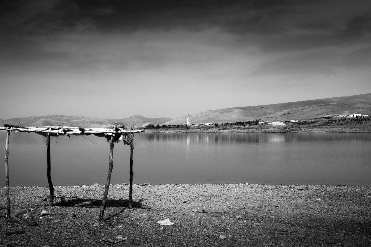 Moulay Idriss, lac du barrage sidi chahed, gildalliere, 2014